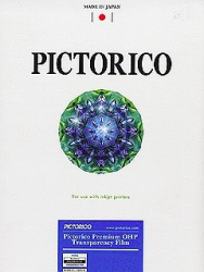 Pictorico Premium Inkjet OHP Transparency Film - 8.5x11/20 Sheets