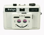 Holga TIM 35mm Camera (Half Frame) - White