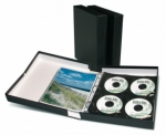 Printfile Black Portfolio Box Binder - 2.5