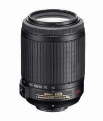 Nikon AF-S DX Nikkor 55-200mm f/4-5.6G ED VR II Zoom Lens (52mm Filter Size)