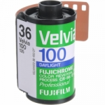 Fuji Fujichrome Velvia 100 ISO 35mm x 36 exp. RVP (Single Roll Unboxed)