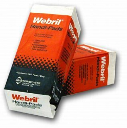Webril Handi-Pads 4 inch x 4 inch - 100 Pack