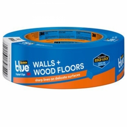 3M ScotchBlue™ Painter's Tape For Walls and Wood Floors - .94 in. x 60 yds.