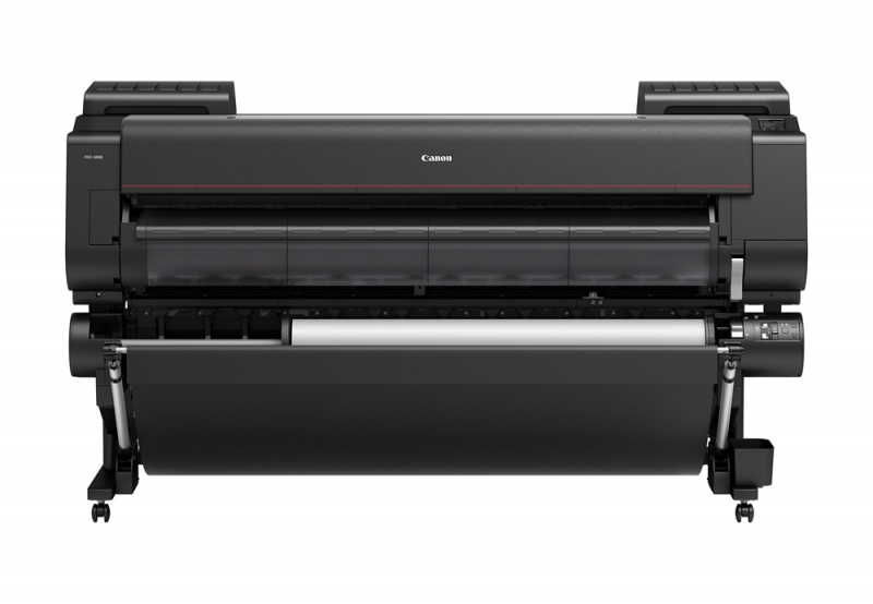 "Canon imagePROGRAF PRO-6000 60"" Wide Format Printer - Extra Roll Feeder Included"