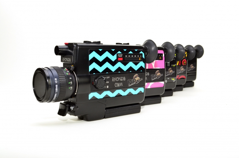 The Rhonda CAM is available in 4 different patterns that match your style or classic black.