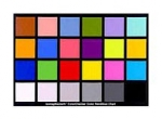 Macbeth Color Checker Chart - 8.5 x 11
