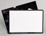 Macbeth White Balance Card - 8.5 x 11 inch