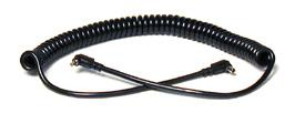 Dot Line Flash Extension Cord 5 ft. Male PC - Female PC Coiled