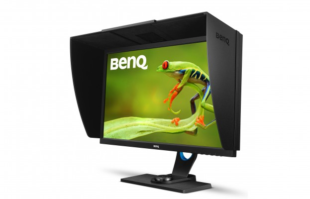 BenQ SW2700PT 27 in. Widescreen LED Backlit QHD Adobe RGB Color Management Monitor for Photographers