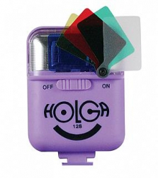 Holga 12S Flash for Holga 135 TIM Camera - Violet