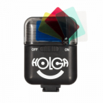 Holga Electronic Flash with Built-in Color Filters