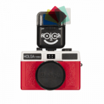 Holga 135BC 35mm Film Camera Kit with Holga Electronic Flash with Color Filters