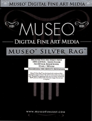 Museo Silver Rag Inkjet Paper - 300gsm 13x19/25 Sheets