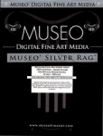Museo Silver Rag Inkjet Paper - 300gsm 50 in. x 50 ft. Roll