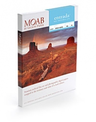 Moab Entrada Rag Textured Inkjet Paper - 300gsm 8.5x11/100 Sheets