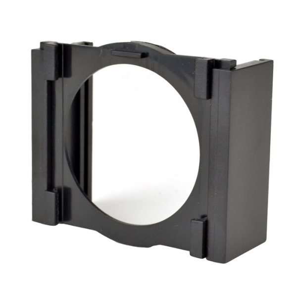 Add this additonal filter holder to your Holga Filter Holder to be able to use two filter at once.