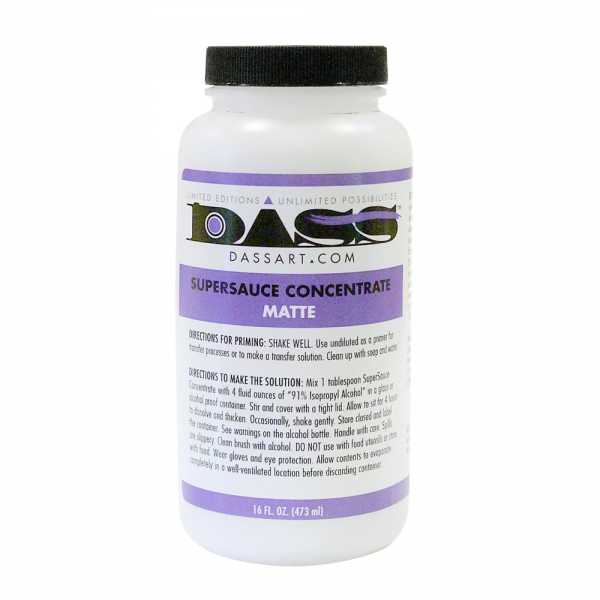 DASS ART SuperSauce Concentrate Matte - 16 oz.
