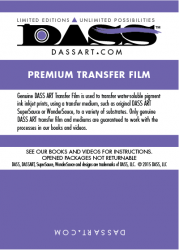 DASS ART Premium Film 13x19/12 Sheet Sample Pack