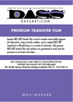 DASS ART Premium Film 24 in. x 100' Roll