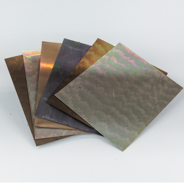 DASS ART Pre-Aged Colored Aluminum Sheets 8 in. x 10 in., 6 Pack ...