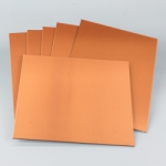 DASS ART Dibond Copper Sheets 8 in. x 10 in., 6 Pack