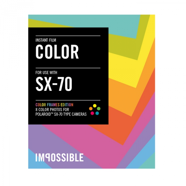 Impossible Instant Color Film with Colored Frames for SX-70 Type ...