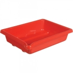 Paterson Developing Tray - Accommodates 5x7 inch print size - Red