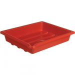 Paterson Developing Tray - Accommodates 10x12 inch print size - Red