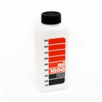 Jobo Wide Neck Storage Bottle White - 1000 ml