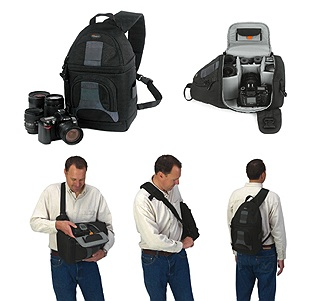 Lowepro Slingshot 100 Aw Backpack Black Freestyle Photographic Supplies