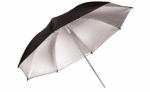 Savage Umbrella 36 inch - Black/Silver