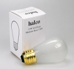 Halco 11 Watt S14 Frosted Bulb for Safelights and Darkoom accessories