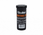 Rollei Ortho 25 ISO 120 Size