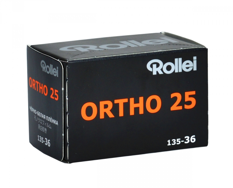 Rollei Ortho 25 35mm x 36 exp.