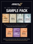 Arista-II RC and Matte Inkjet Paper Sample Pack - 8.5x11/14 Sheets