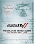 Arista-II Metallic Lustre Inkjet Paper - 252gsm 13 in. x 32 ft. Roll