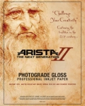 Arista-II RC Glossy Inkjet Paper - 252gsm 24 in. x 10 ft. Roll