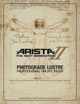 Arista-II RC Lustre Inkjet Paper - 252gsm 36 in. x 100 ft. Roll