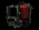 Gibellini PROXIMA 45 4x5 View Camera - Black / Red