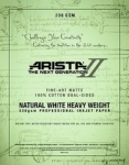 Arista-II Fine Art Natural Cotton Matte Inkjet Paper - 330gsm 24
