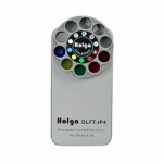 Holga iPhone 4 and 4S Detachable Lens and Filter Case - Silver