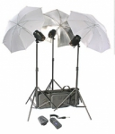 RPS RS-SB/SLK3 480 W/S Studio Monolite Strobe Kit - 3 Lights