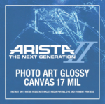 Arista-II Photo Art Canvas Glossy - 17 in. x 35 ft. Roll