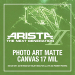 Arista-II Photo Art Canvas Matte - 17 in. x 35 ft. Roll