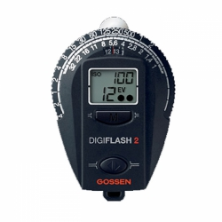 Gossen Digiflash 2 Digitial Flash and Ambient Light Meter
