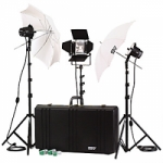 Smith Victor K77 2200-Watt Interview Lighting Kit