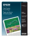 Epson High Quality Inkjet Paper - 90gsm 8.5x11/100 Sheets