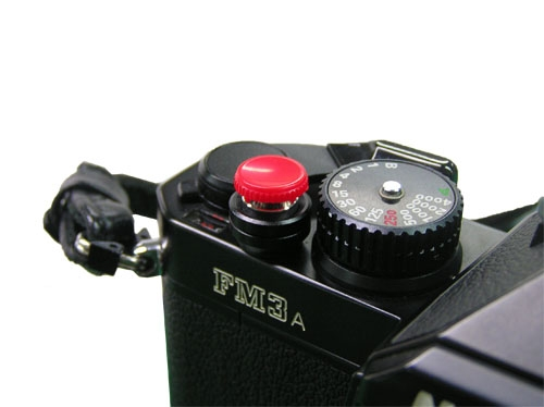 Soft Shutter Release Button - Red