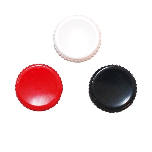 Soft Shutter Release Button Set - Black, Red, & White