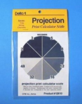 Delta Projection Print Scale